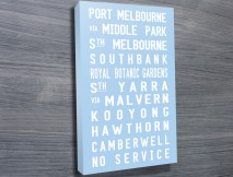Port Melbourne tram scroll