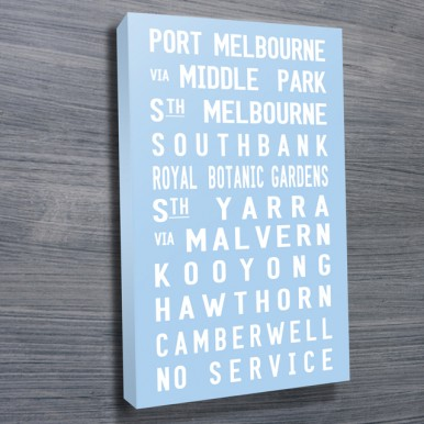 Port Melbourne tram scroll | Port Melbourne