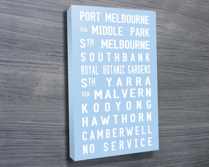 Port Melbourne tram scroll   Port Melbourne