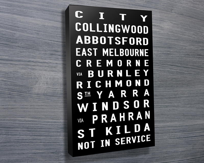 St Kilda Contemporary bus scroll | St Kilda Contemporary