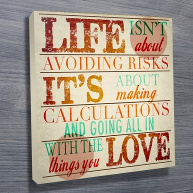 custom canvas prints | Going all in