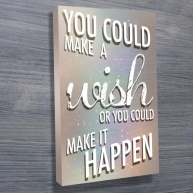 personalised canvas art | Make it happen