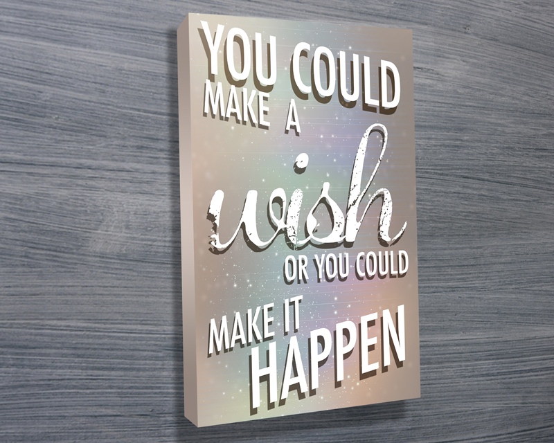 personalised canvas art | Make it happen