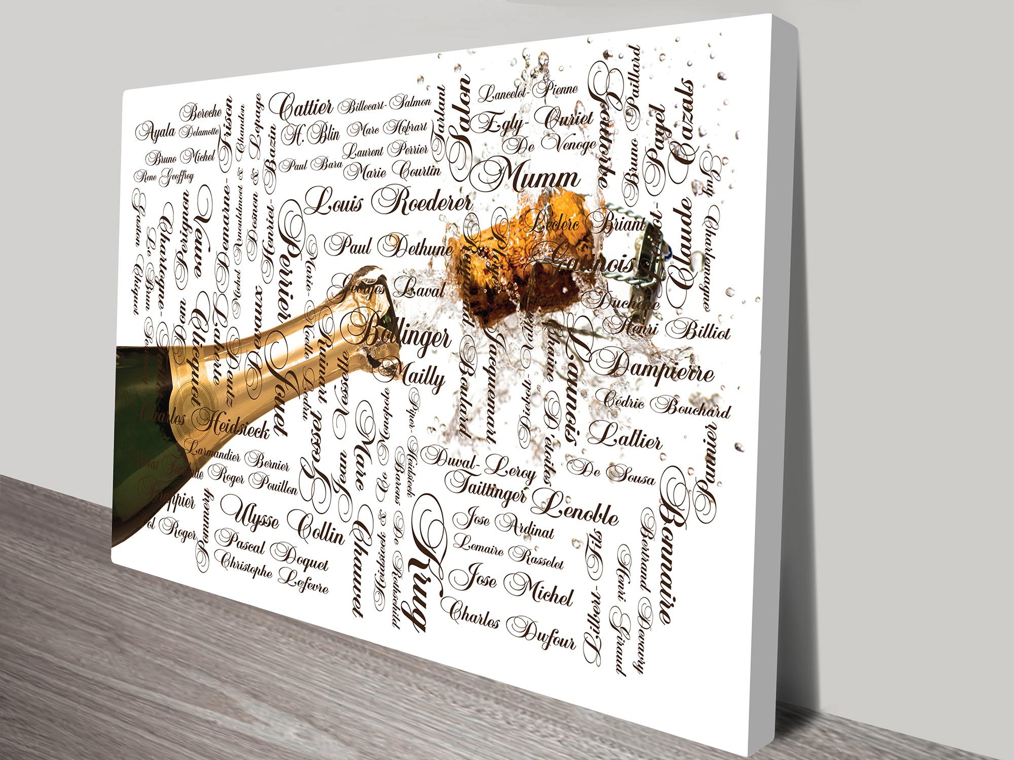 Photo word art prints | Photo and Words Art