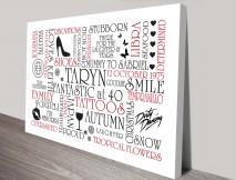 typographic clipart canvas