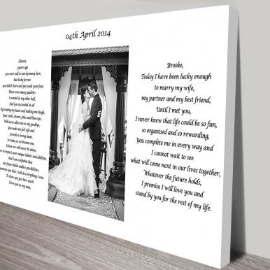 valentines photo word art | Wedding Vowels Art 1