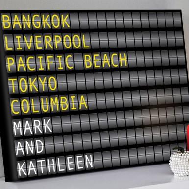 Arport-Flight-Destination-Board-Art | Airport Flight Sign – 1 Landscape