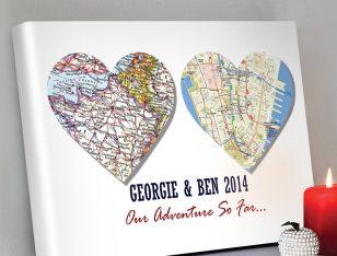 Personalised-Heart-map-Art