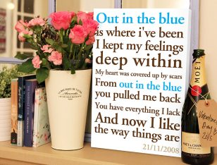 personalised poem word art
