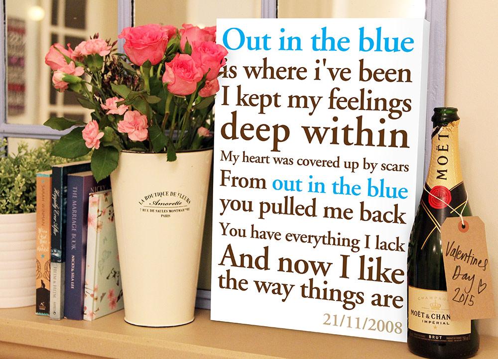 personalised poem word art | Poems & Rhymes Style 1