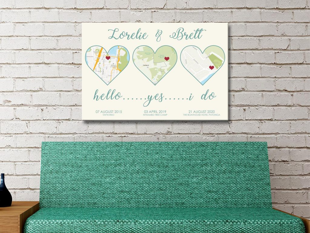 Gorgeous word art Canvas