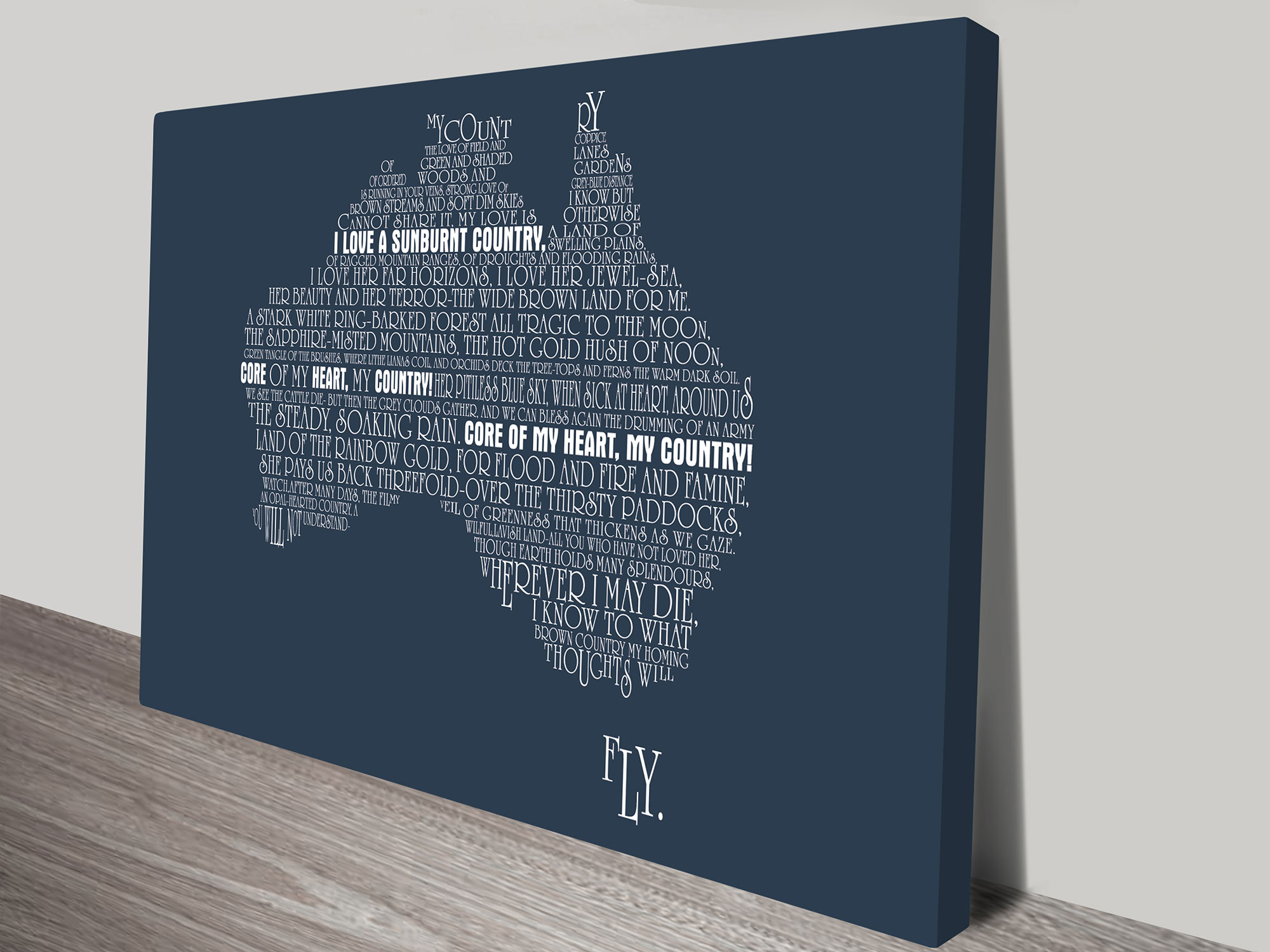 Personalised Australia Word Map Art | Custom Word Maps u2013 Style 3 & Custom Word Maps Australia | Style 3 - Beyond a Word