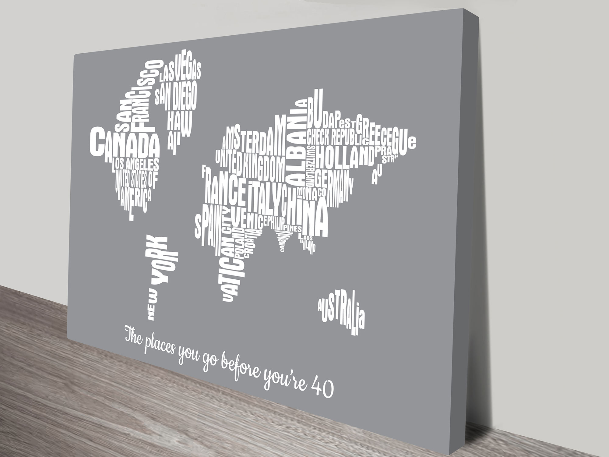 world type map art | Custom Word Maps – 2