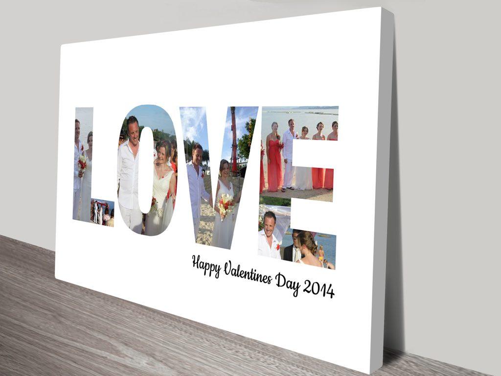 love photo word art