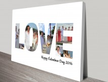love photo word art