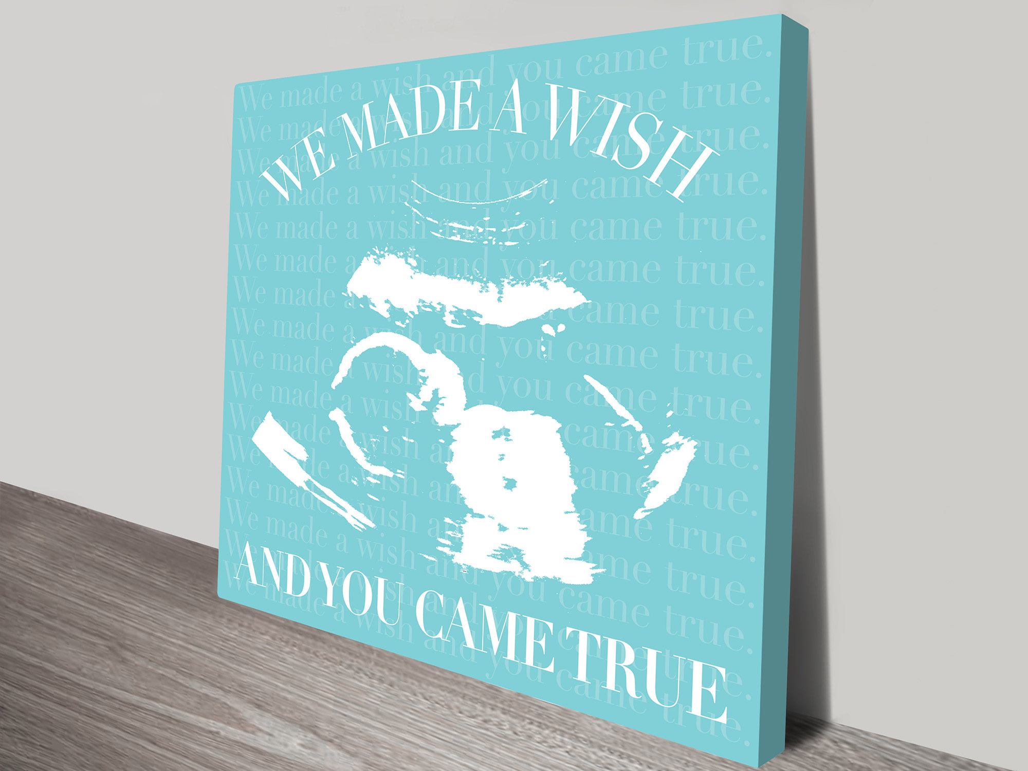 new baby scan personalised art | A Wish Come True