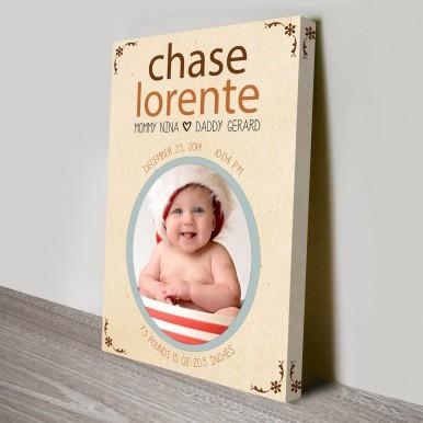 baby custom gift idea | We Welcome You