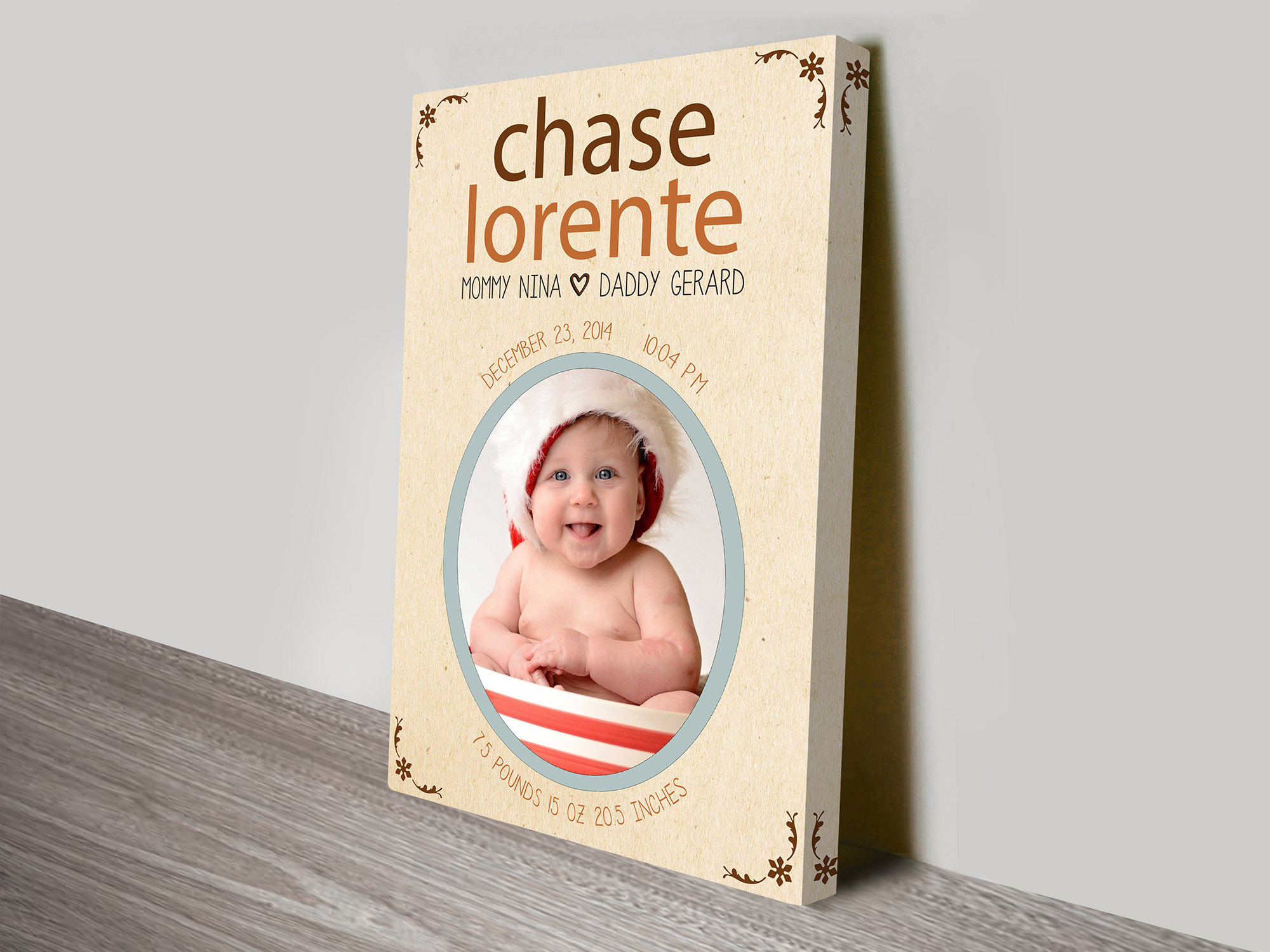 baby custom gift idea | We Welcome You