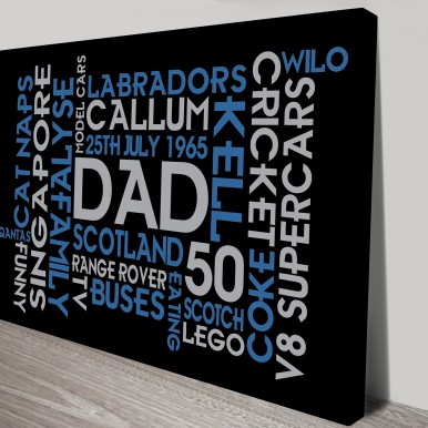 Dads Birthday Word Art | Dads Birthday