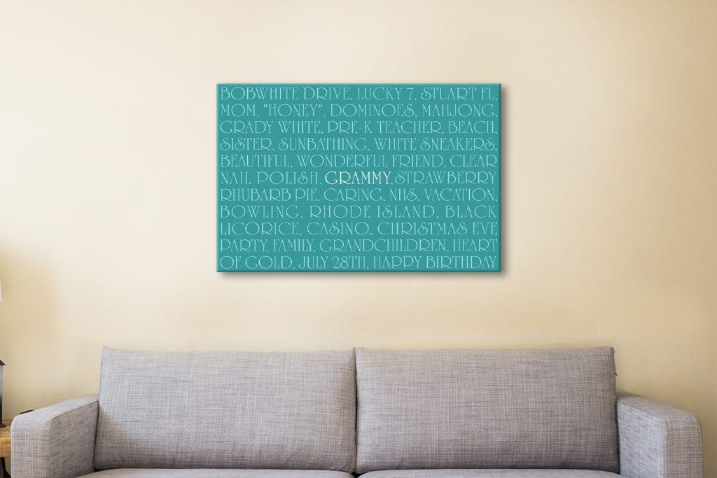 Personalised art Australia