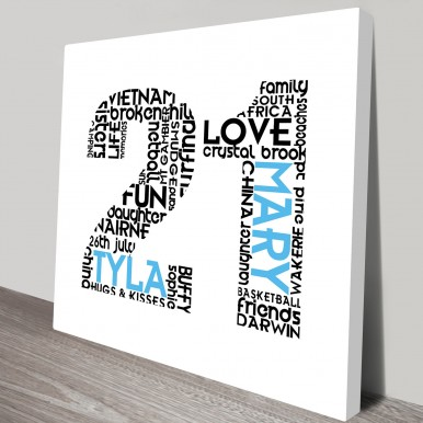 birthday number letter art | Name Numbers