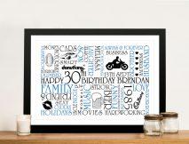 Personalised Word Art Gifts Idea Australia