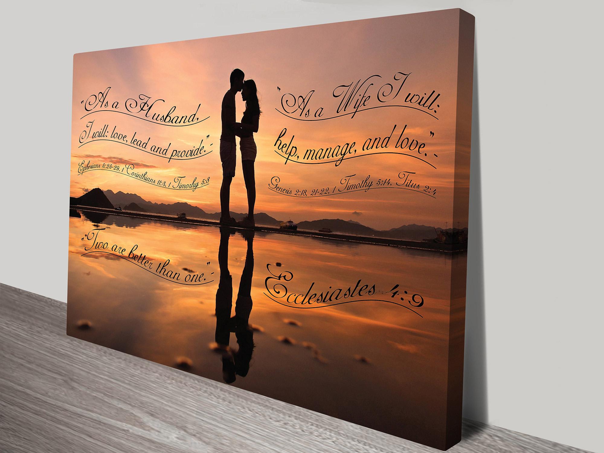 Christian Quotations Framed-Art | Christian Verses Artwork 13