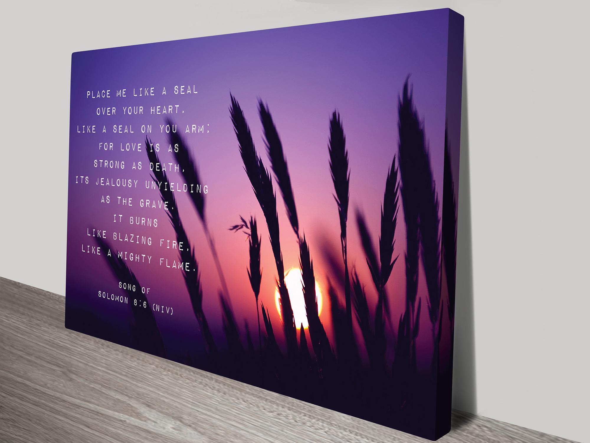 christian art gift ideas | Christian Verses Artwork 14