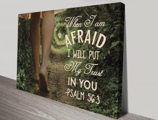 Personalised Christian Quotes Art