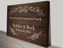 personalized wedding art