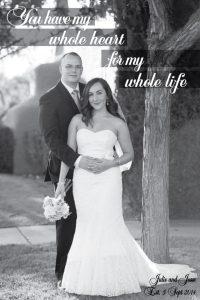 Typographic Photo Art Wedding Personalised Artwork