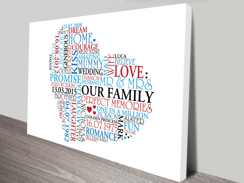 Beautiful Custom Word Art Online In The Shape Of A Heart