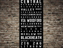 Blue Mountains Contemporary  sc 1 st  Beyond a Word & Personalised Tram u0026 Bus Scrolls and Banners | Beyondaword