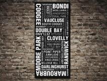 Sydney Eastern Suburbs Tram scroll