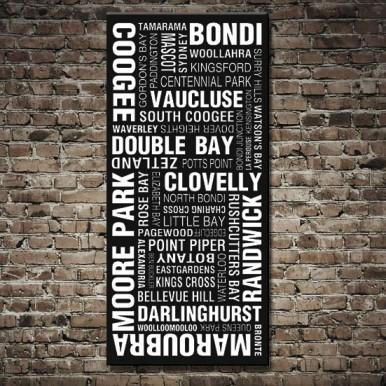 Sydney Eastern Suburbs Tram scroll | Sydney Tram Scroll