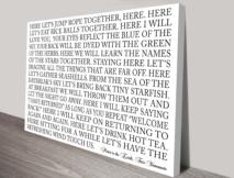 custom quotes wall art brisbane