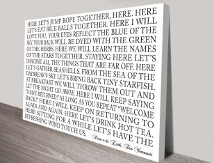 custom quotes wall art brisbane