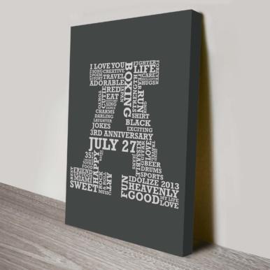 Custom Letter Word Art | Personalised Letters