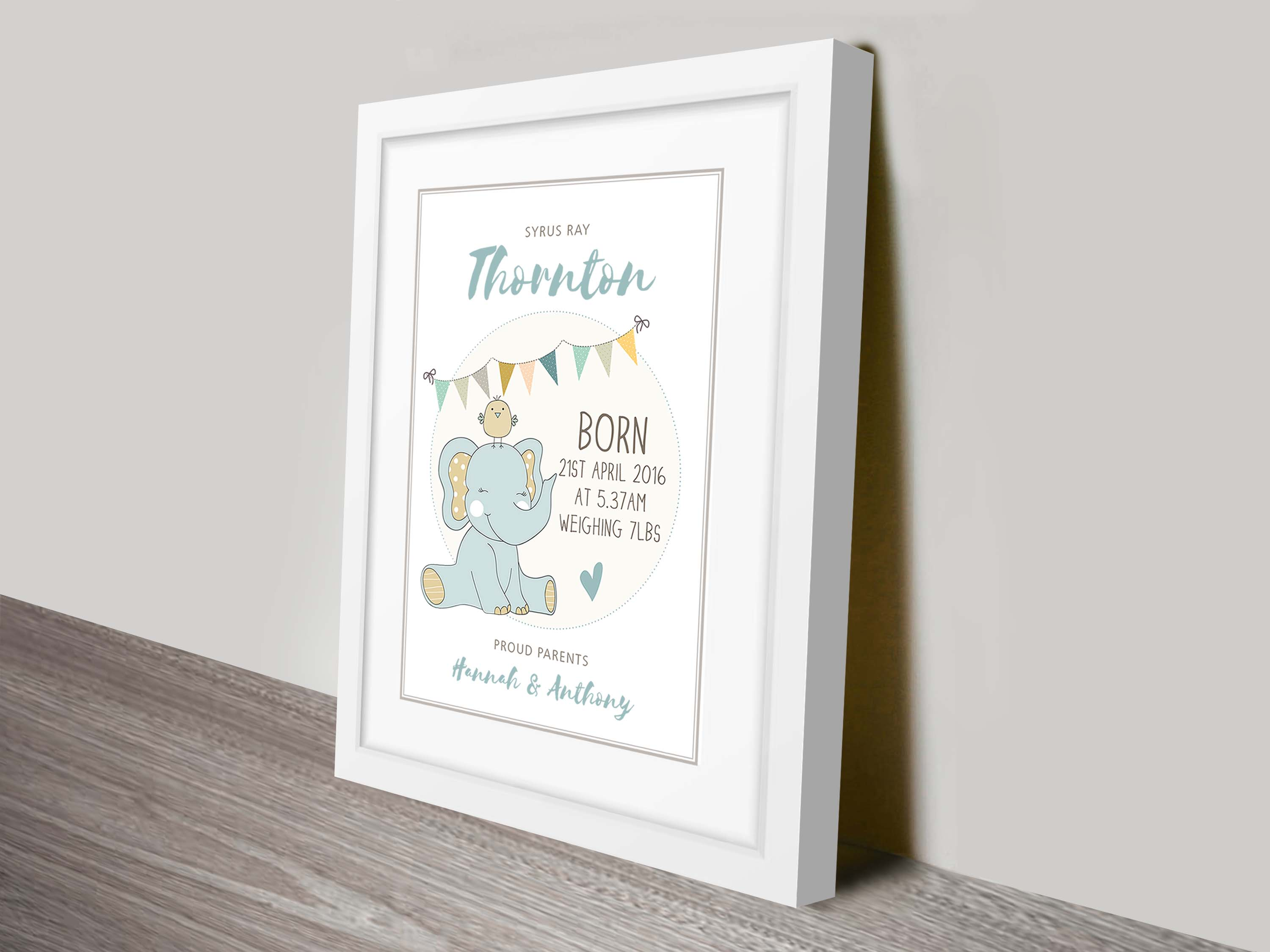 Personalised Baby Boy Gifts | Proud Parents – Boy