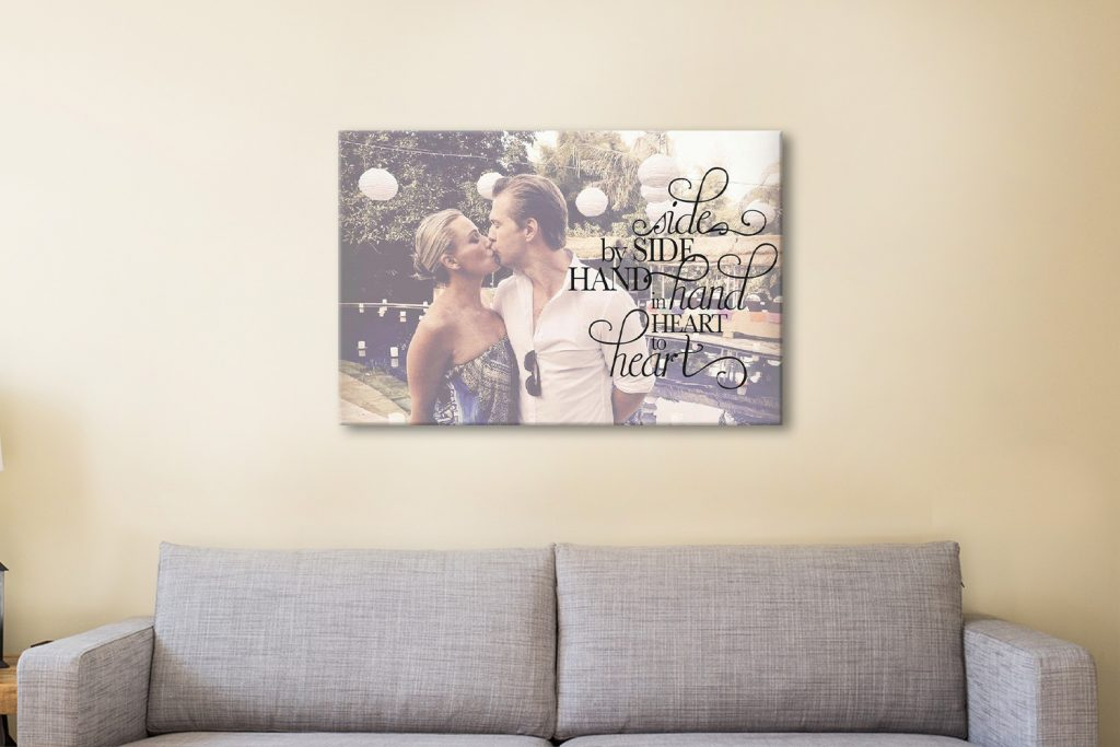 custom art canvas print
