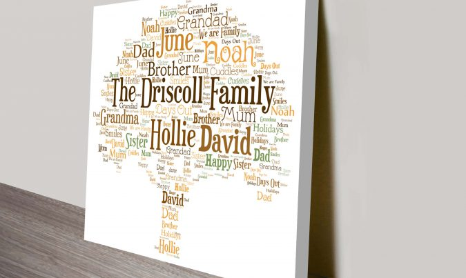Personalised Family Tree Artwork