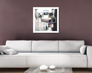 Custom Photo Collage Canvas Artwork