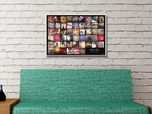 My life photo collage Canvas Art