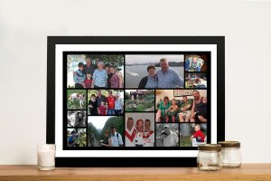 Framed Collage Wall Art