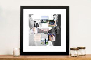 Photo Collage Framed Art