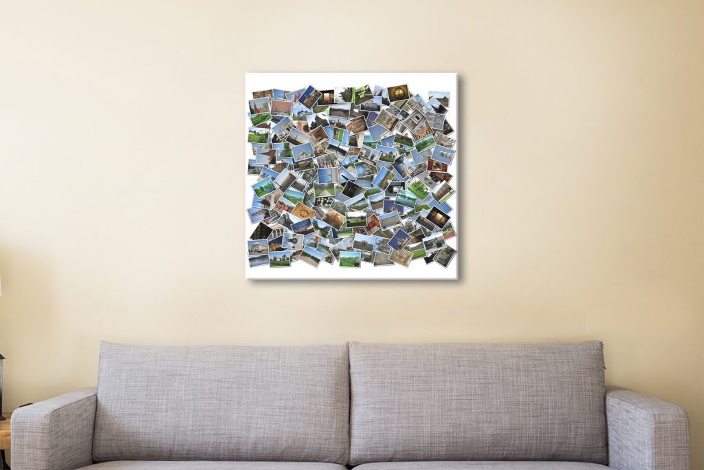 collage Canvas Artwork