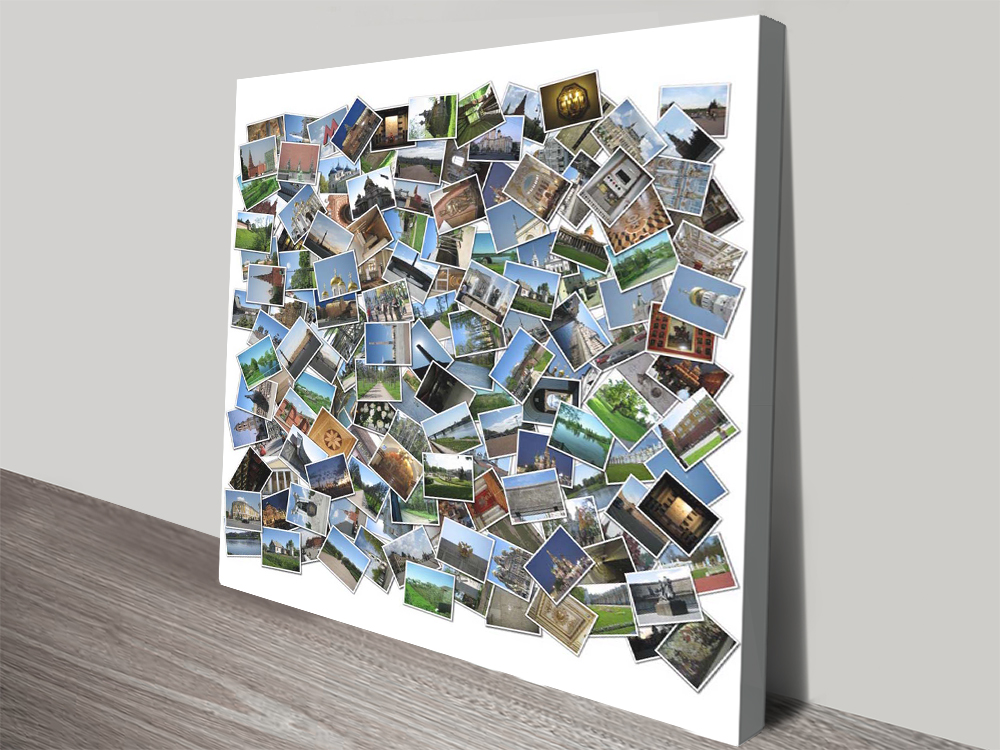 Collage canvas print Brisbane