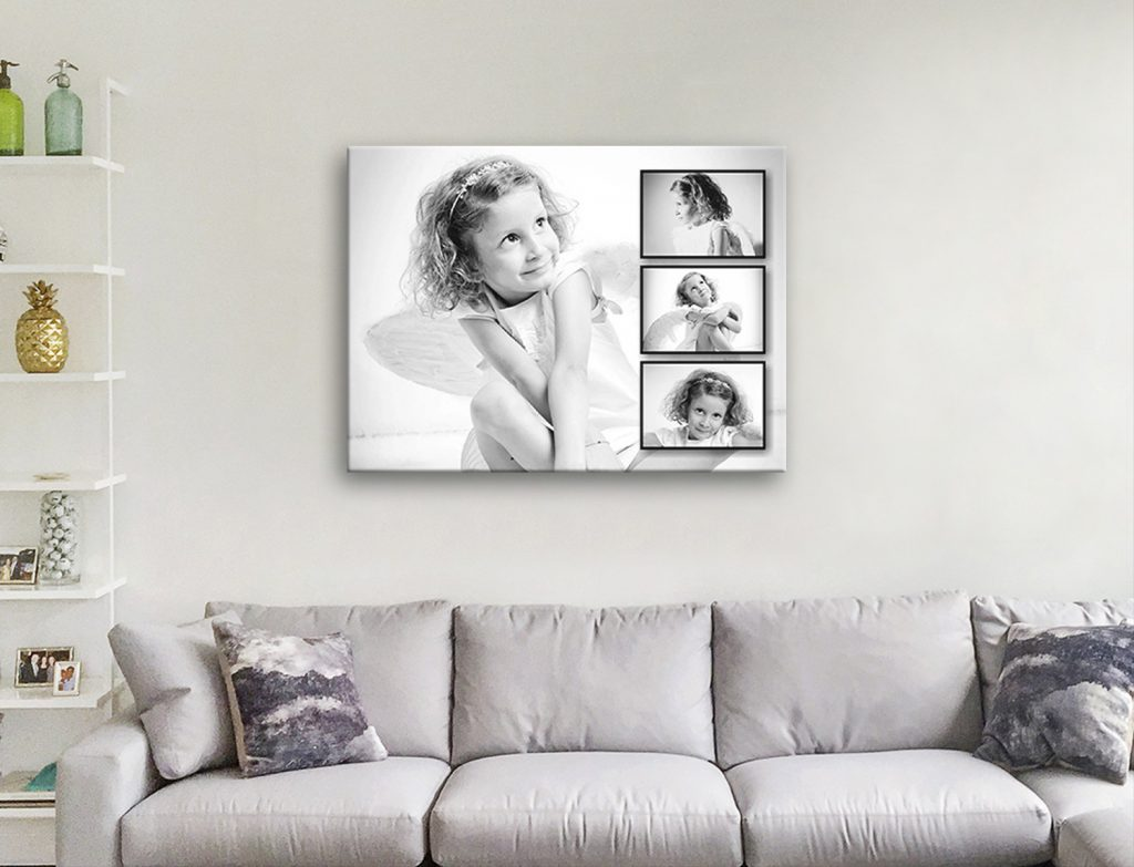 Personalised Photo Collage Canvas Art Australia
