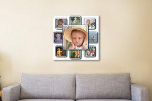 Bespoke Photo Collage Canvas Print