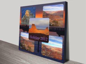 Photo Collage Canvas Noosa